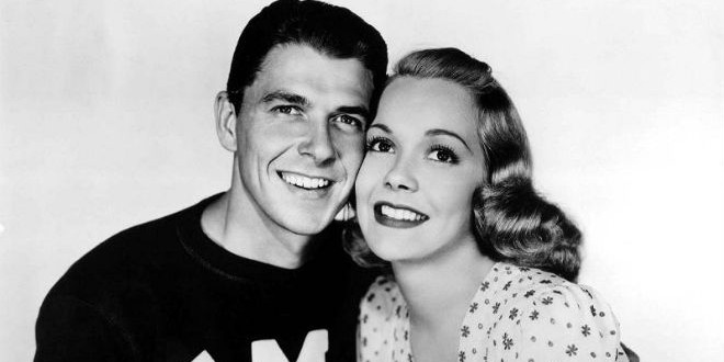 Daily Retro Pic: Ronald Reagan with First Wife Jane Wyman