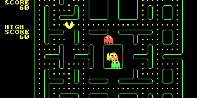 Daily Retro Pic: Pacman Video Game