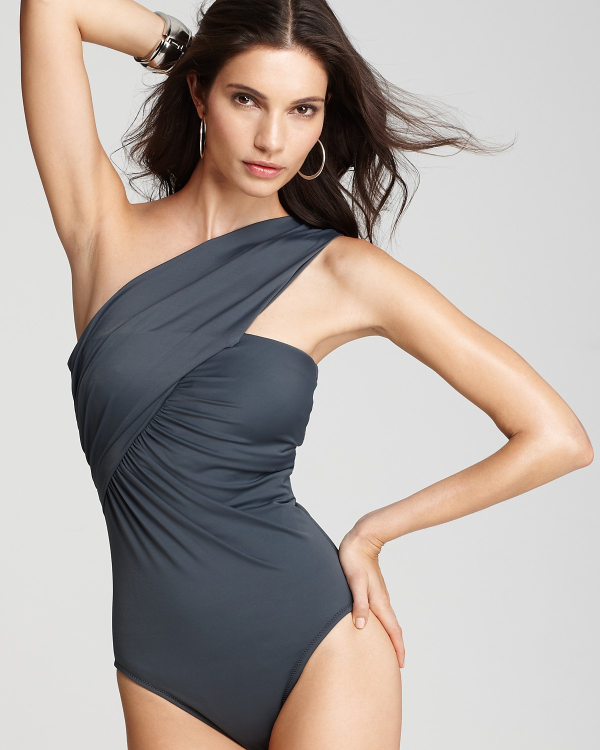 One Shoulder Swimsuit Dailyman40com