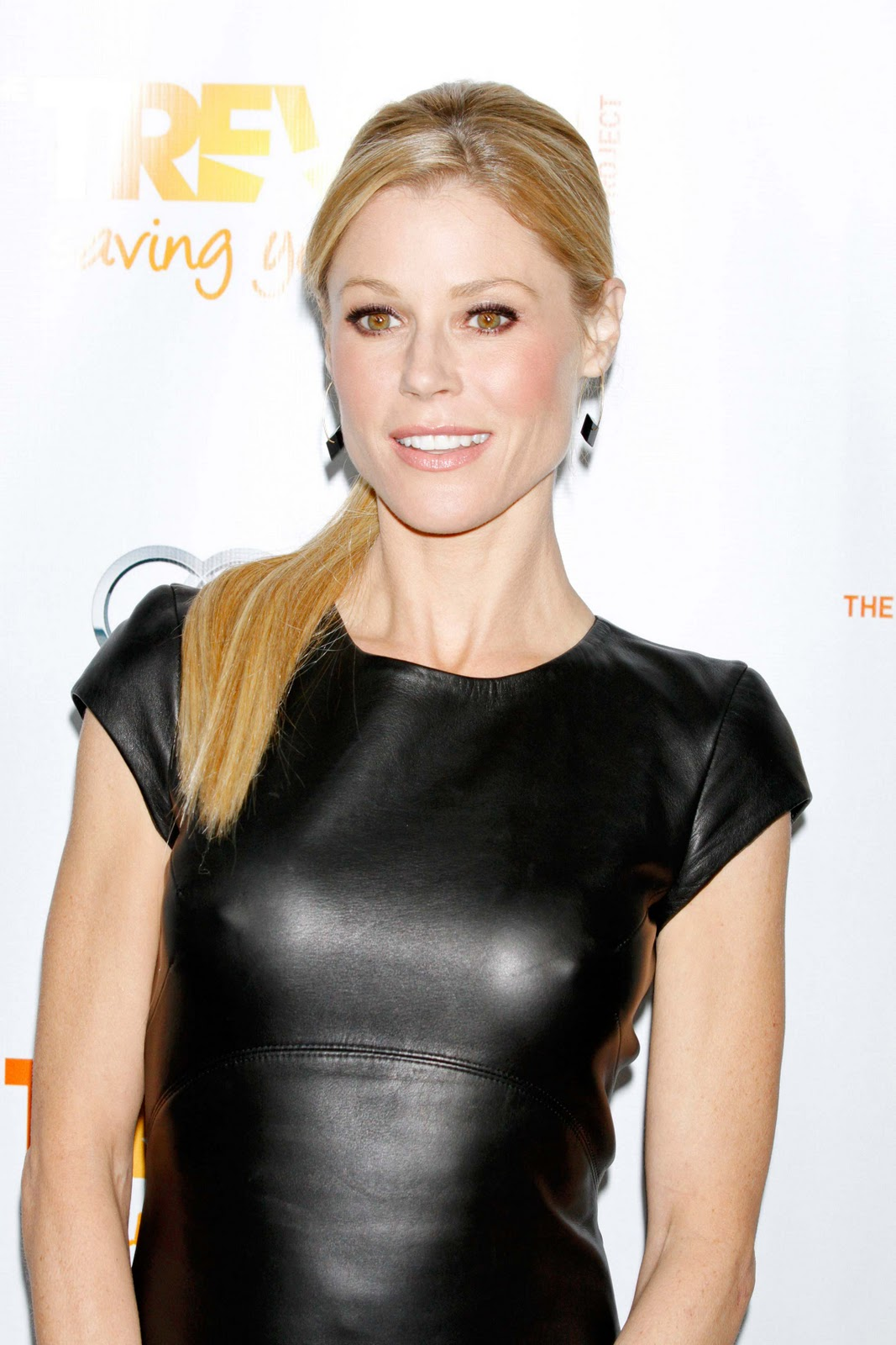 Julie Bowen black see-through