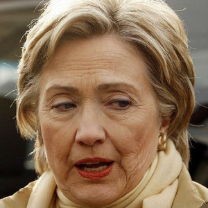 Nor' easter on the way? Hillary-clinton-wrinkles-300x300