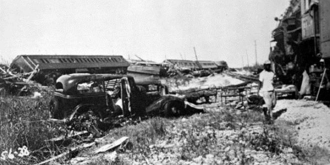 The Daily Retro Pic: 1935 Labor Day Train Wreck Caused by Category 5 Hurricane