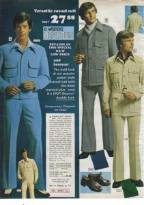 Mens leisure suits