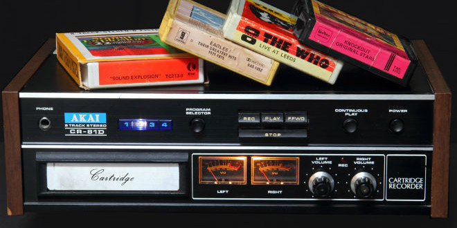 The Daily Retro Pic: 8-Track Tapes (and Player)
