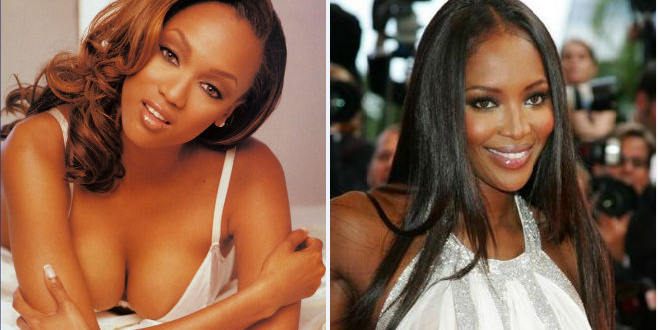Battle of the Super Models: Tyra Banks vs. Naomi Campbell