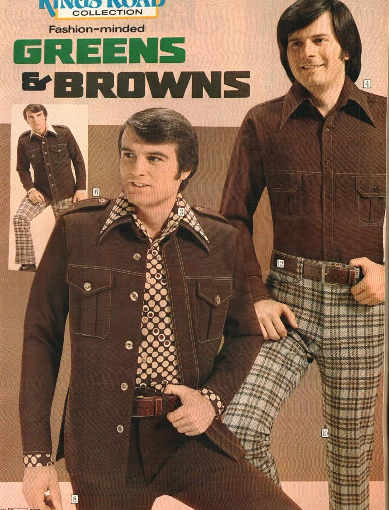 Green And Brown Living Room Decor: What Were We Thinking? A Look Back At Leisure Suits (with