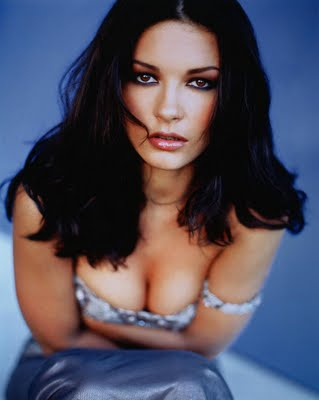 catherine zeta-jones cleavage