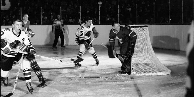 The Daily Retro Pic: An NHL Hockey Goalie Playing Without a Mask