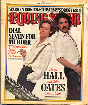 Hall and Oates rolling stone