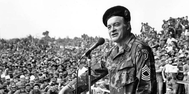 The Daily Retro Pic: Bob Hope Entertains the Troops in Vietnam