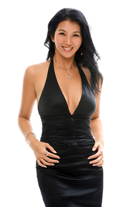 jeanette lee black dress