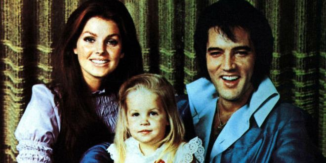 The Daily Retro Pic: The Presley Family in the Early 1970s