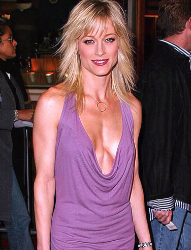 teri-polo-hot-purple-dress