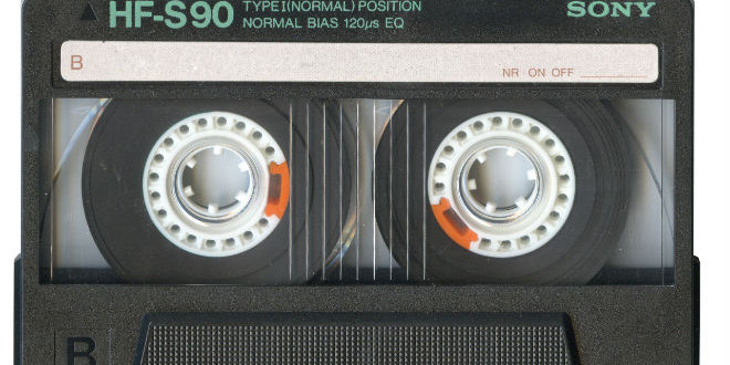 The Daily Retro Pic: Cassette Tape