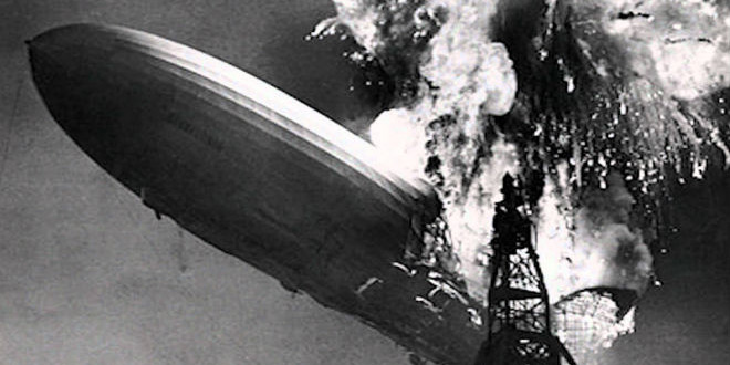 The Daily Retro Pic: The Hindenburg Disaster