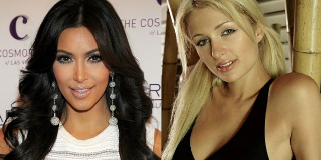 Battle of the Mindless Babes: Kim Kardashian vs. Paris Hilton