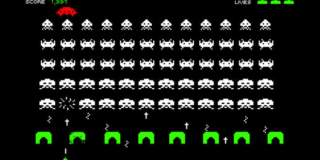 The Daily Retro Pic: Space Invaders