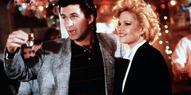 "The Daily Retro Pic: Alec Baldwin and Melanie Griffith in the 1988 Film: ""Working Girl"""