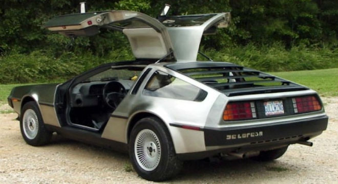 The Daily Retro Pic: The DeLorean DMC-12
