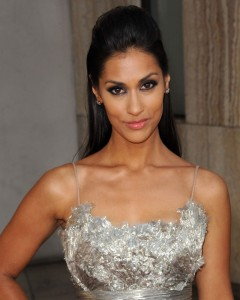 janina-gavankar-pretty dress